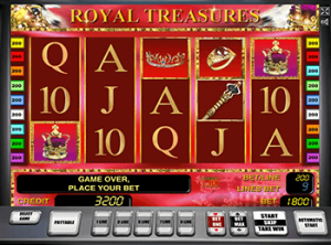 Royal Treasures онлайн в Вулкан Платинум